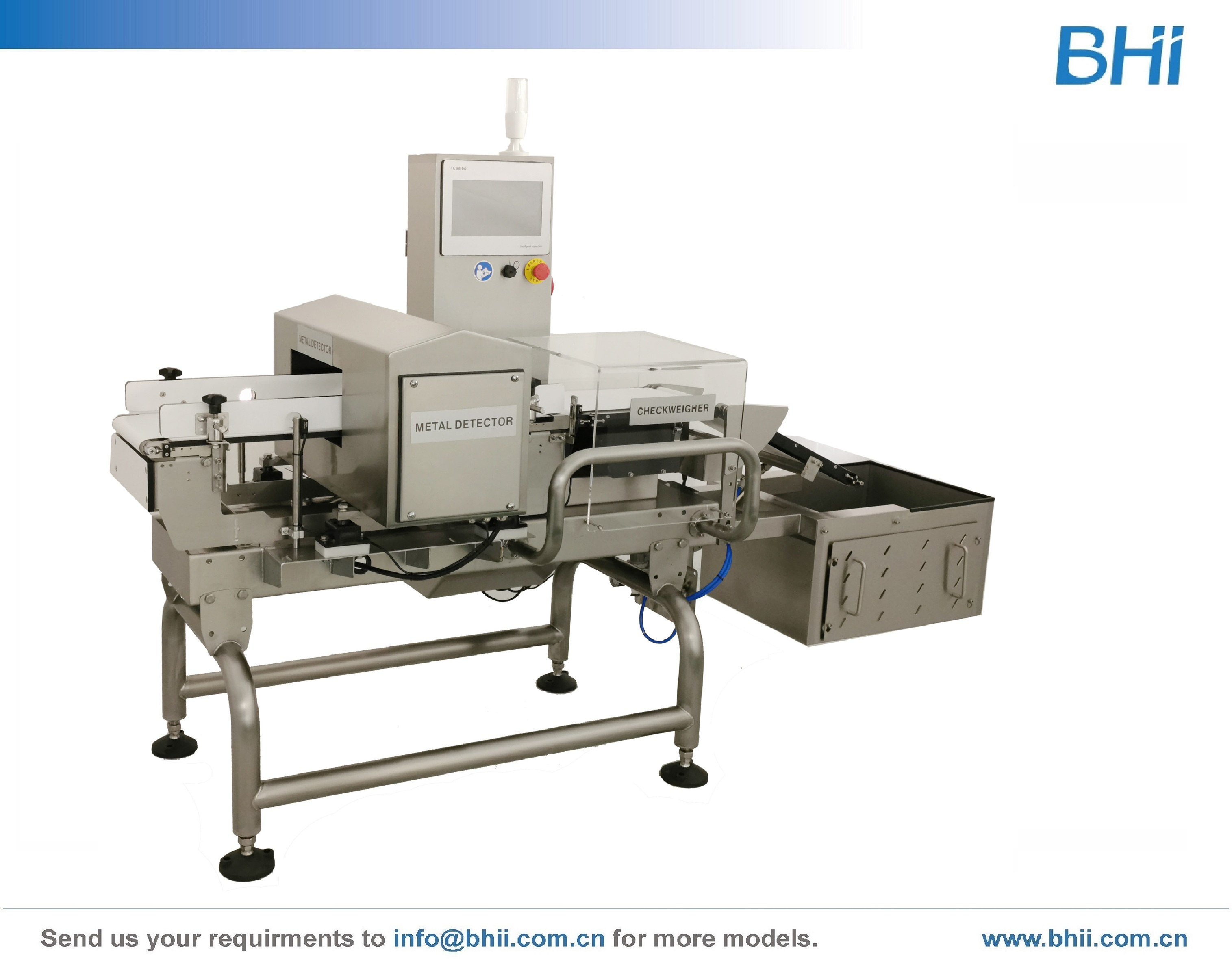 Combo - Checkweigher with Metal Detector
