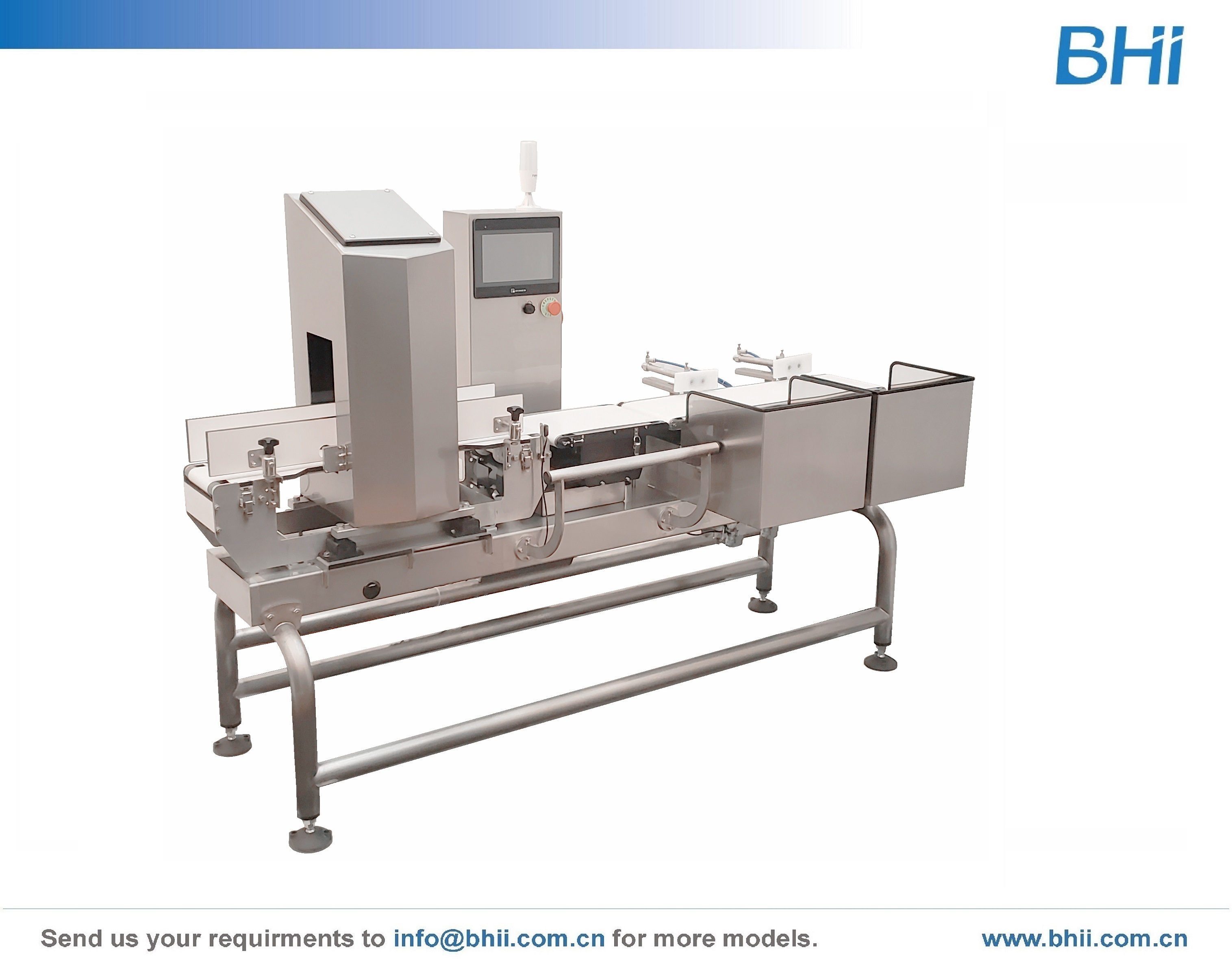 Combo - Checkweigher with Metal Detection  for Bottle