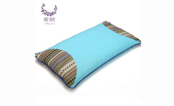 香枕-纯棉彩绣平枕