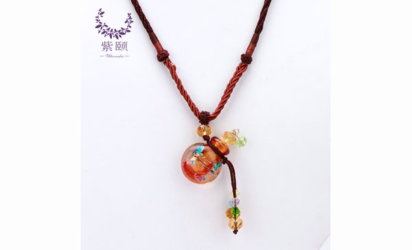 饰品-高档台湾绳超薄款水中花