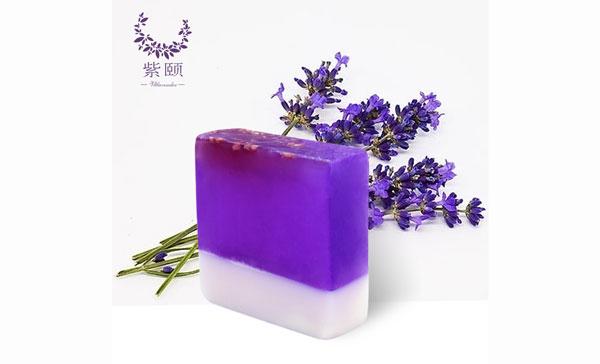 精油皂-方块薰衣草精油皂