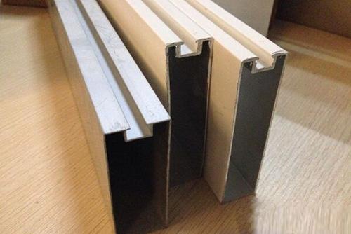 凹型铝型材方通
