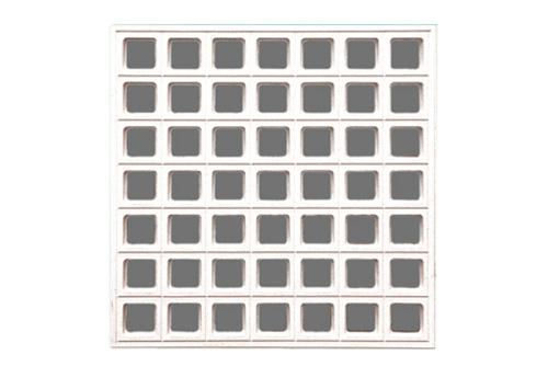 高晶复合天花-格栅板