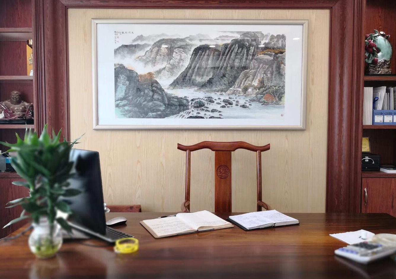 雅庭豪苑1-162方-办公室新中式