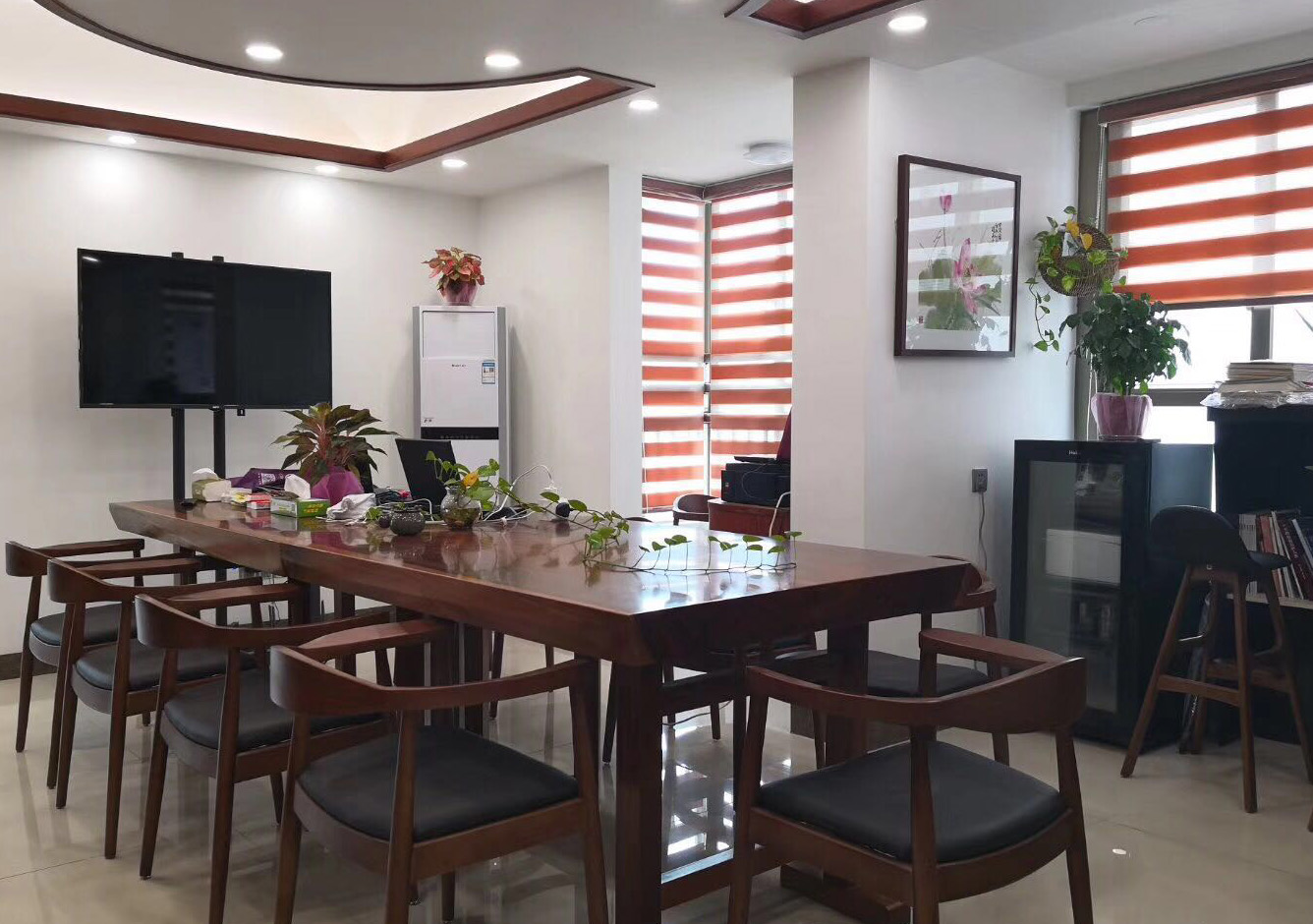 雅庭豪苑3-162方-办公室新中式