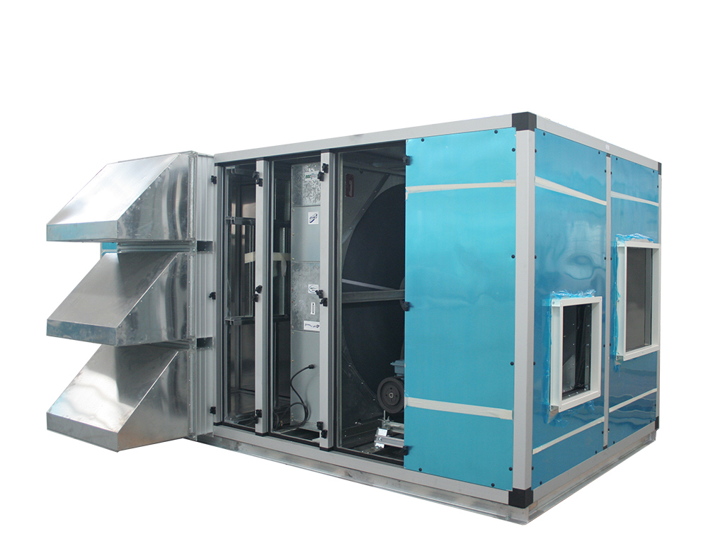 Wheel Type Fresh Air Heat Recovery Unit