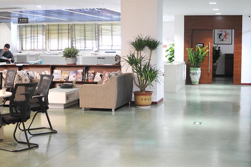 商业风格-彩色混凝土抛光地坪系统