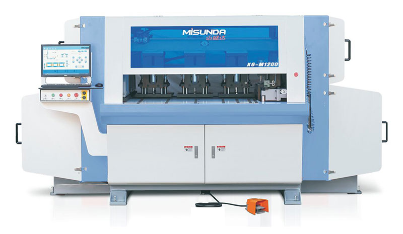 X6-M1200 Intelligent CNC Drilling and Milling Center