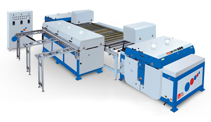 MJ1325 automatic high-efficiency cross-cut sawing production line