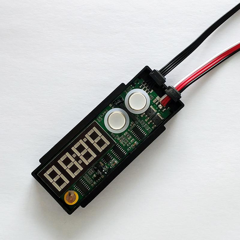 K3100A 双键数码管时间温度显示器