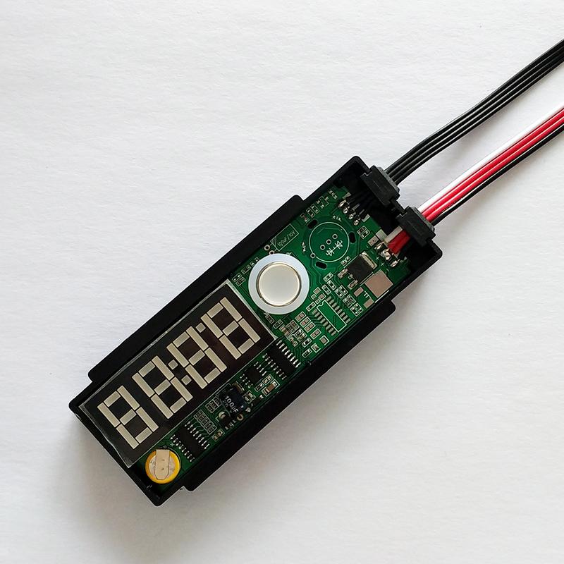 K3100B 单键数码管时间温度显示器