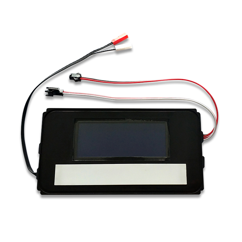 K3014A Mirror time temperature date display system LED light mirror time temperature display