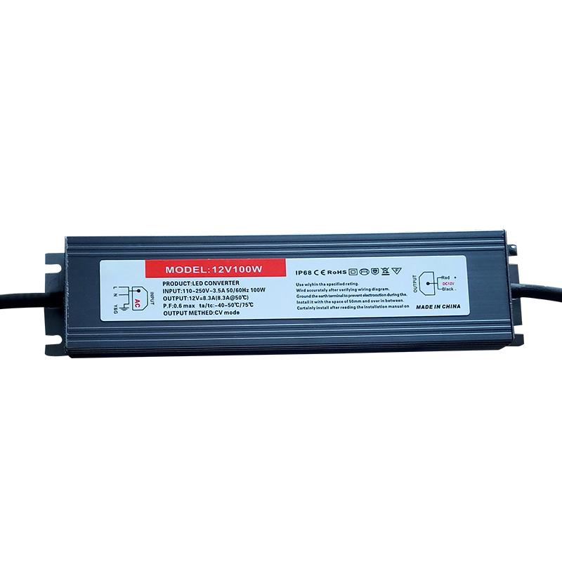 P100 100W防水恒压驱动电源