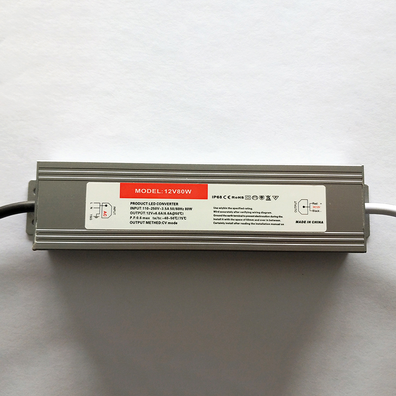 P80 80W waterproof constant voltage drive power supply