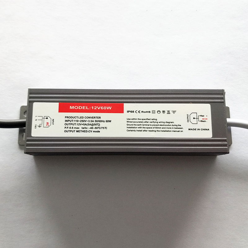 P60 60W waterproof constant voltage drive power supply