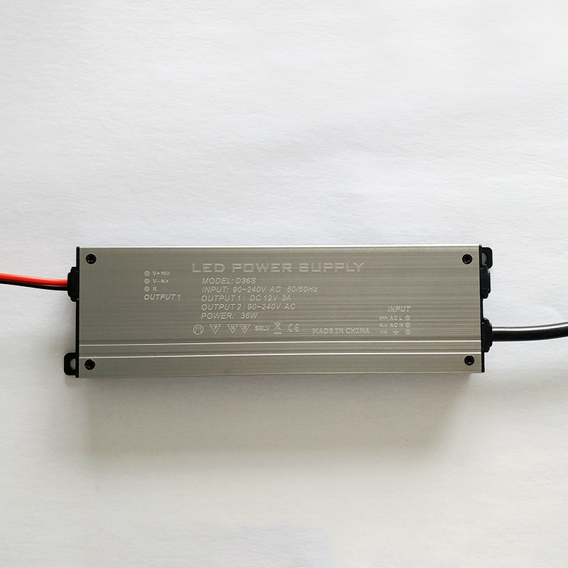 D36S Ultra-thin DC12V 36W constant voltage drive power supply