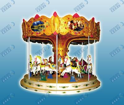 BH824a 12、16人转马(seats Magic Carousel)