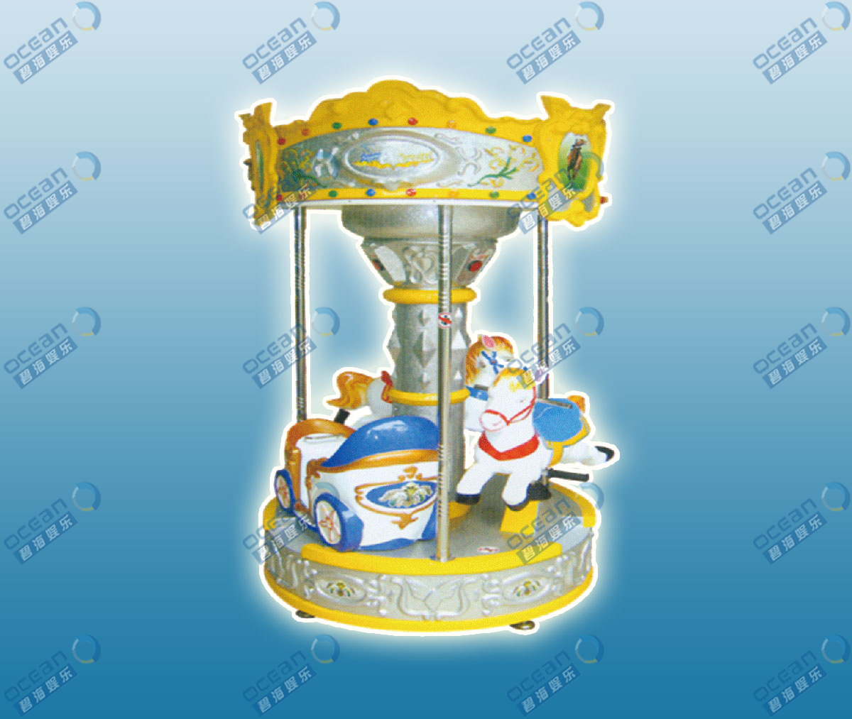 Machinery Ride-BH802 Little Carousel