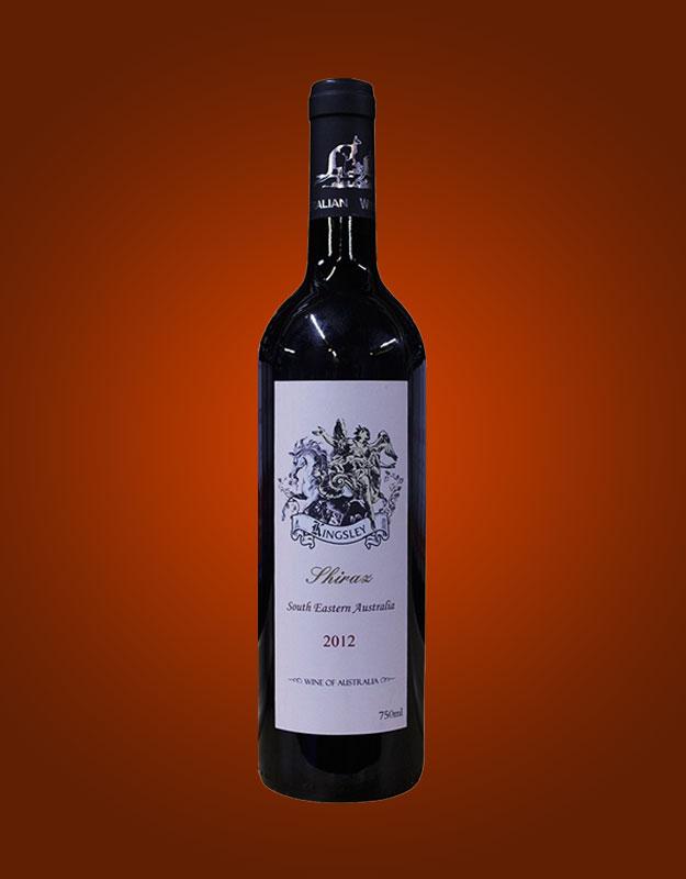 金士利西拉2012干红葡萄酒