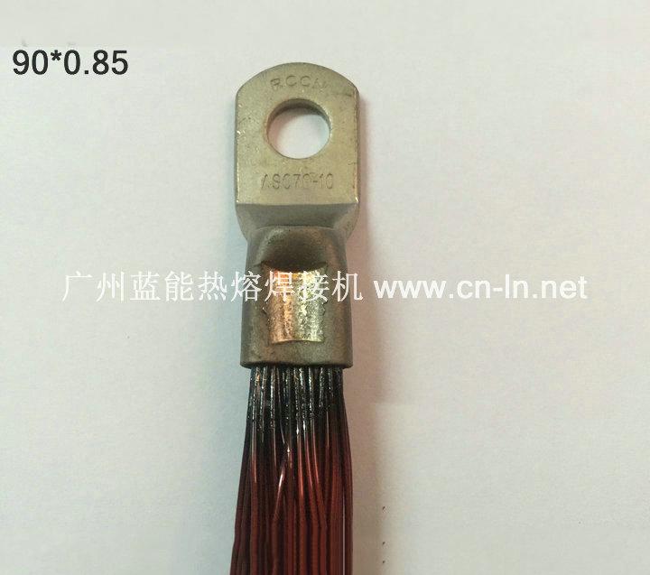 铜鼻子漆包线热熔焊接机