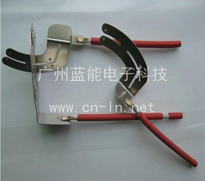 镀锡多股铜线镍片焊接点焊机