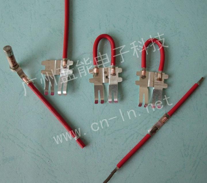 电池组镍片电子线焊接