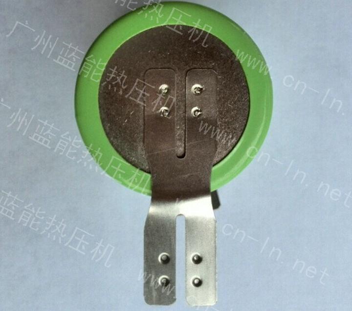圆柱电池镍片点焊机