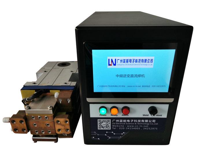 铜焊接专用逆变焊接电源,触摸屏界面