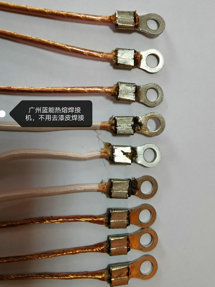深圳可立克在用的丝包线焊接机