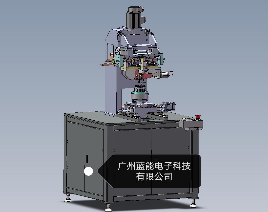 电机转子自动热压焊机