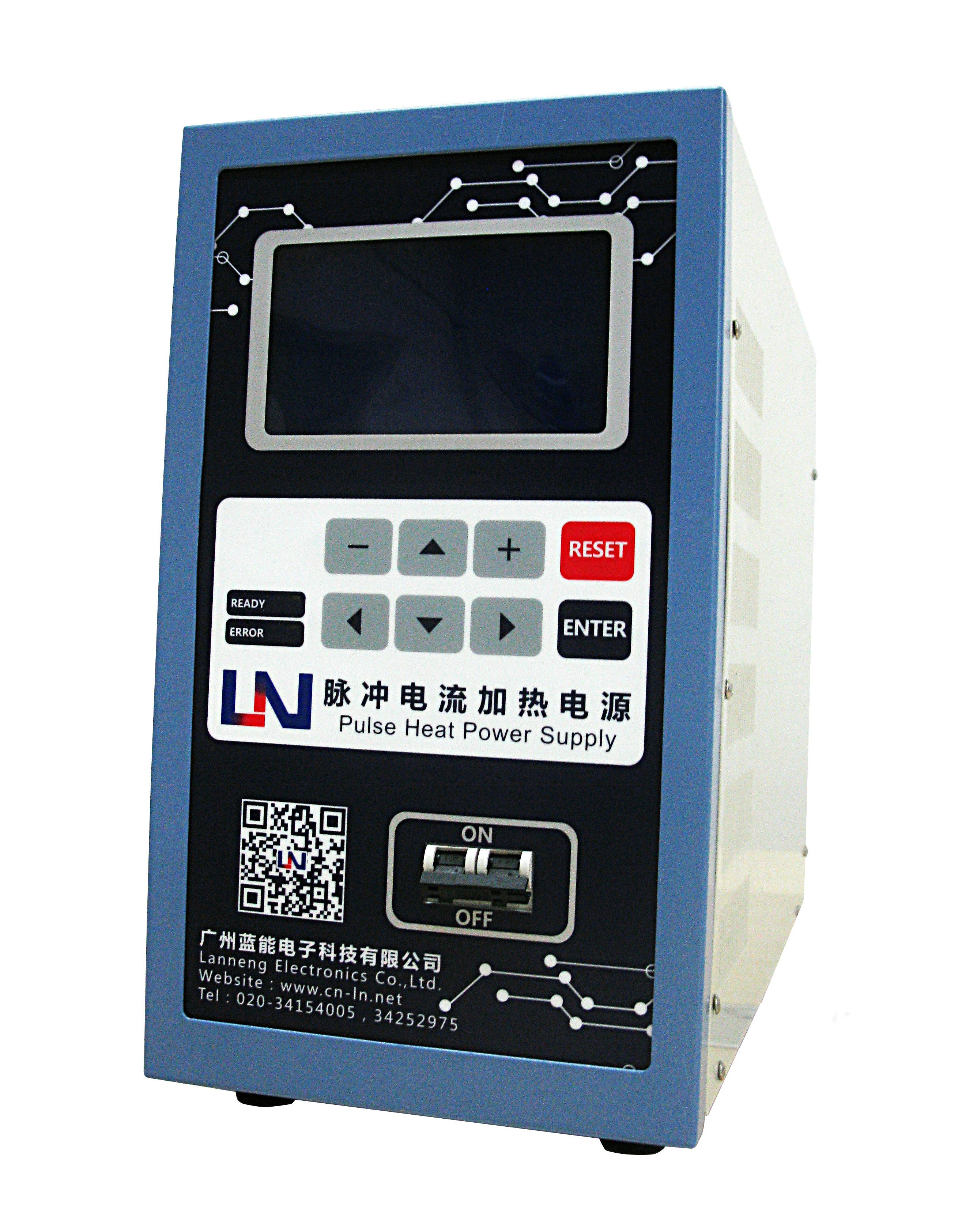 采用脉冲加热电源焊接高频电感漆包线