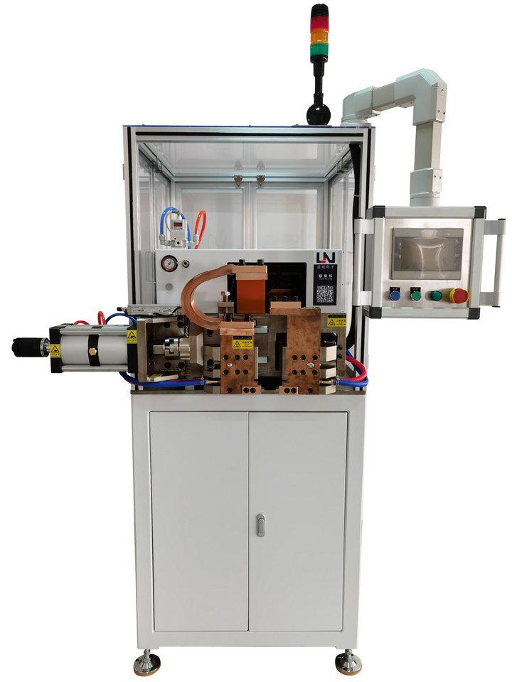 电动车电机定子铜鼻子热熔焊接机