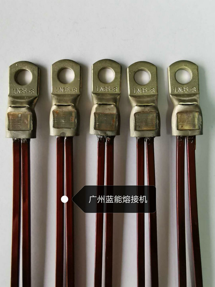 新能源扁线电机引出线铜端子焊接机