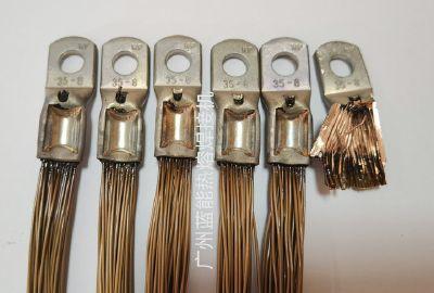 EV电机定子引线铜端子焊接机,不用刮漆皮