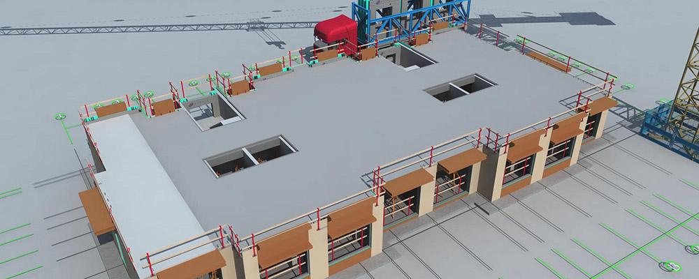 赣州建筑工业化展厅-数字沙盘片