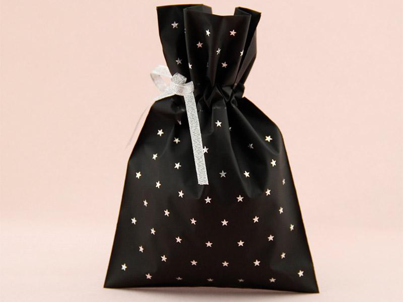 礼品袋系列-CPE穿绳购物袋