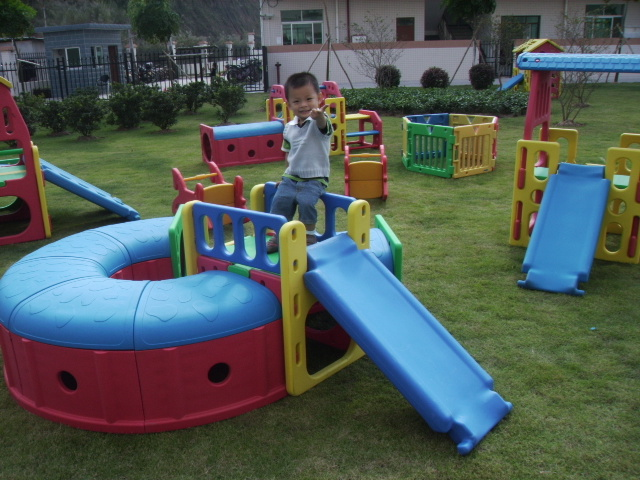 combo gym-turnl and slide