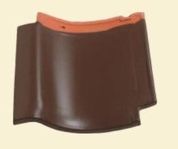 matte glaze Brown