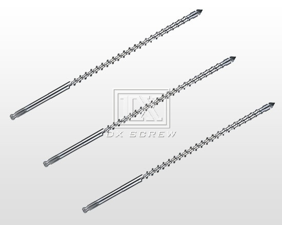 Injection molding machine screw-X-GR Super optical mirror steel screw( referred to as stainless stee
