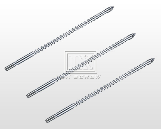 Injection molding machine screw-DX-TH alloy screw(Referred to B level alloy)