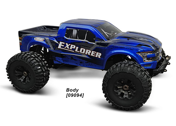 1/5 EP MONSTER TRUCK (NO.:94090)