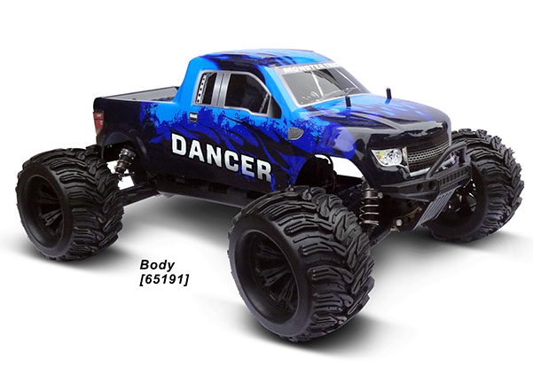 1/6 4WD EP MONSTER TRUCK (NO.:94651)