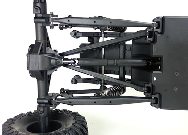 1/8 EP Rear Portal Axle DESERT (NO.:94991)