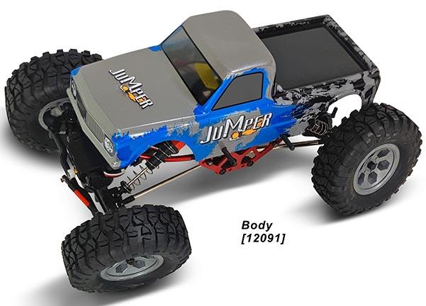 1/10  4WD EP CRAWLER(NO.:EX86012)