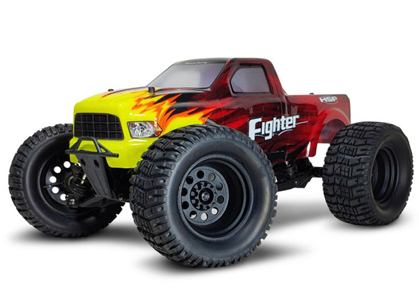 1/16  EP Rear Portai Axle MONSTER (NO.:94828)