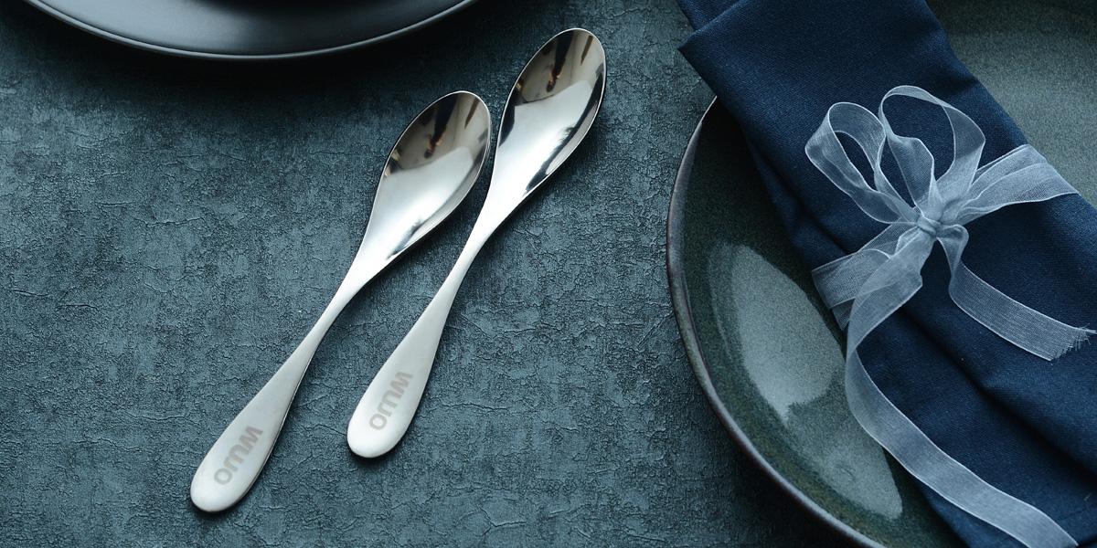 纯钛儿童餐勺(WJ-K202A)