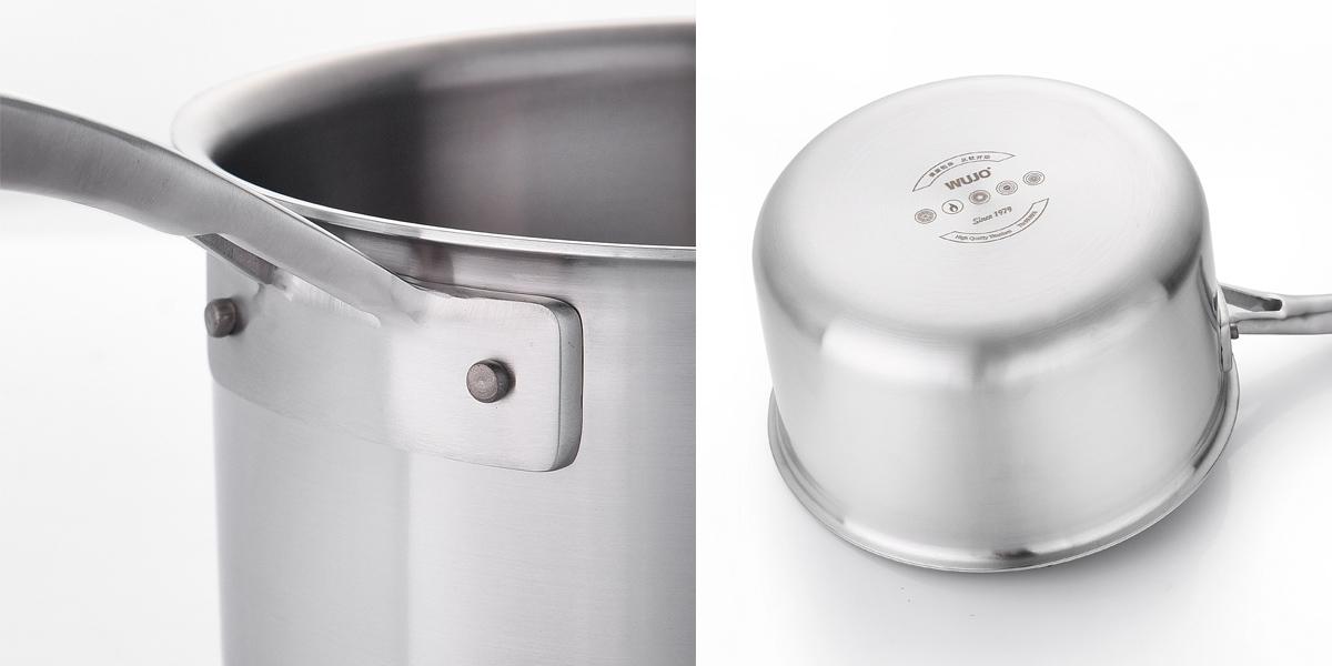 钛制奶锅(WJ-P603A/WJ-P603B)
