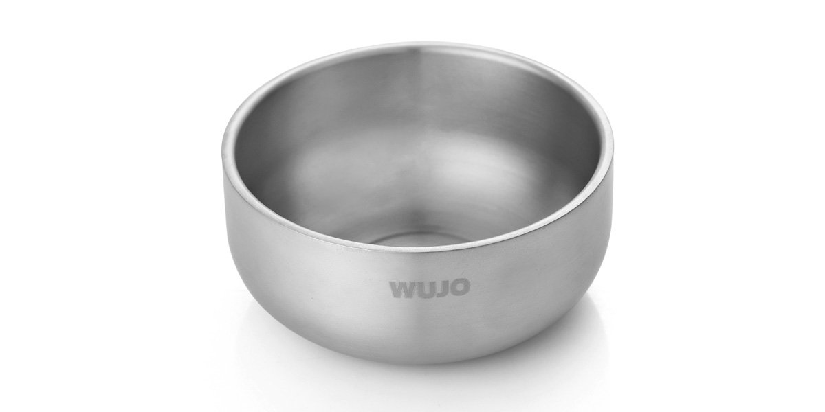 纯钛双层沙拉碗(WJ-T101A/WJ-T101B)
