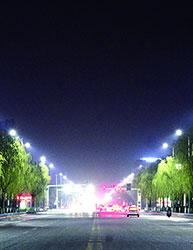 邹平县LED路灯改造项目