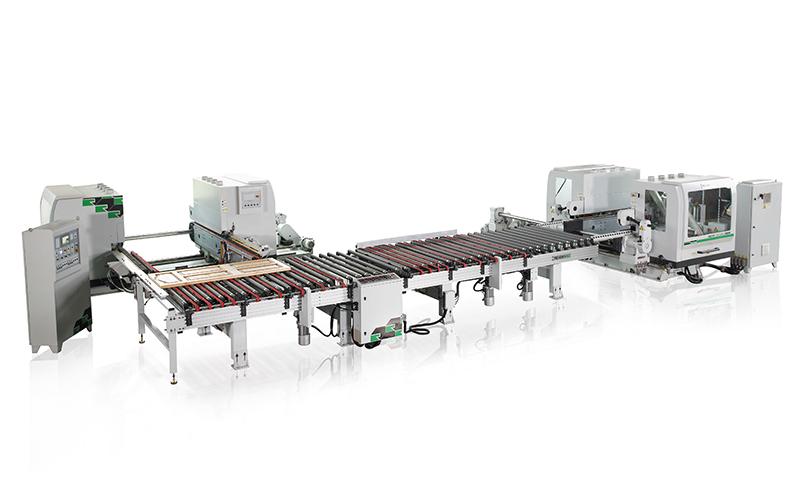 RMD+RMD 双端铣 + 双端铣生产线